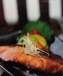 resep salmon nitsuke